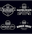 set badges banner labels and logo vector image vector image