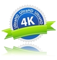 UltraHD icon vector image