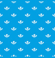 candy shop quality pattern seamless blue vector image vector image
