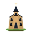 church building religious christian vector image vector image