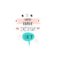 hand drawn abstract creative detox diet vector image vector image
