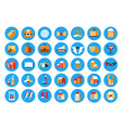 instagram highlights stories covers icons vector image