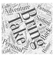 personal equipment for adventure sailing vacation vector image vector image