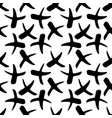 seamless pattern with x symbols vector image vector image