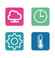 smarthome technology isolated icon vector image