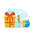 tiny people celebrating holiday wearing masquerade vector image vector image