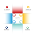 Infographic design template options banner vector image