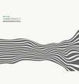 abstract of gray stylish strip lines wave wave vector image vector image