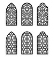 arabic arch window or door set cnc pattern laser