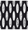Black White Surfing Boards Seamless Pattern vector image vector image