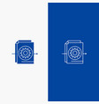 document file gear settings line and glyph solid vector image vector image