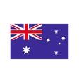 flag australia icon flat style vector image