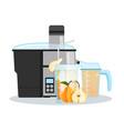 juicer or blender for making juices and fruit vector image