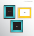 Modern frame on the wall vector | Price: 1 Credit (USD $1)