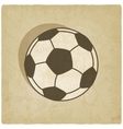 soccer sport old background vector image vector image