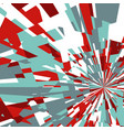 abstract background of star burst vector image