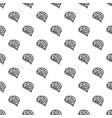 brain pattern seamless vector image