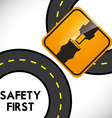 Drive Safety vector image vector image