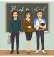 High school teachers vector image vector image