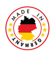 made in germany stamp vector image vector image