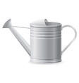 metal watering can vector image vector image