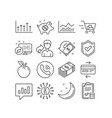 piggy sale usd currency and trade infochart icons vector image vector image