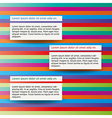 three notes vector image vector image