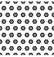 hexagon black and white seamless abstract pattern vector image vector image