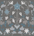 modern art nouveau tiffany pattern vector image vector image