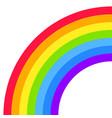 rainbow half arc shape quarter circle bright