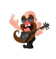 american rocker scream vector image vector image