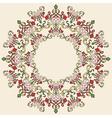 Antique ottoman turkish pattern design thirty vector image vector image