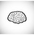 brain human symbol medicine think icon vector image