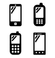 Cell phone signs vector image vector image