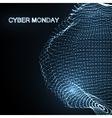 Cyber Monday Promotional Poster vector image