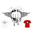 Fist and tribal vector | Price: 1 Credit (USD $1)
