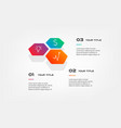 honey infographics with icons element of chart vector image vector image