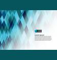 multicolor geometric triangular style gradient vector image vector image
