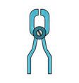 odontology equipment tools vector image