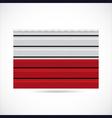 Poland siding produce company icon vector image vector image