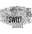 soave word cloud concept vector image vector image