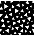 Triangle chaotic seamless pattern 6208 vector image
