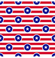 usa flag theme seamless pattern background white vector image