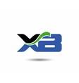 XA logo vector image vector image