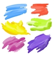 colorful Abstract Watercolor elements for design vector image