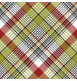 abstract pixel check plaid seamless pattern vector image vector image