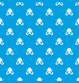 nose reduction pattern seamless blue vector image vector image