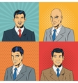People design Pop art icon Retro and Colorfull vector image
