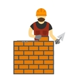 under construction people vector image vector image