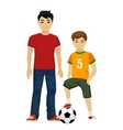 cute young guys boys Kids vector image